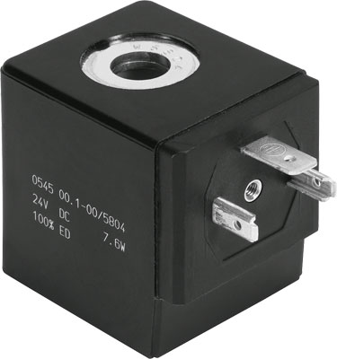 FESTO solenoid coil - Model: VACN-H1-A1-1 - Part No: 8022877