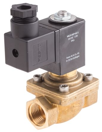 FESTO solenoid valve - Model: VZWF-B-L-M22C-G14-135-1P4-10 - Part No: 1492110