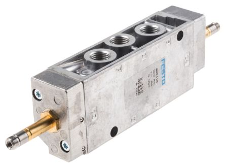 FESTO 5/2 Double Solenoid Valve - Model: JMFH-5-1/4 - Part No: 10410