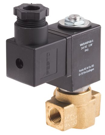 FESTO solenoid valve - Model: VZWD-L-M22C-M-G14-30-V-1P4-15 - Part No: 1491844