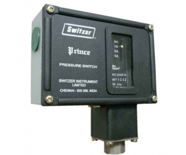 SWITZER Bellow type pressure switch. Model : GH-901-2-G-3