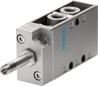 FESTO 5/2 Single Solenoid Valve - Model: MFH-5-1/8 - Part No: 9982