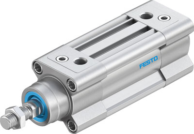 FESTO ISO cylinder - Model: DSBC-63-25-PPVA-N3 - Part No: 1383578
