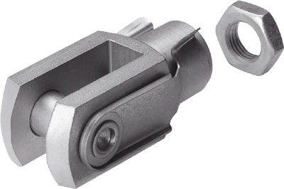 FESTO Rod Clevis Mounting - Model: SG-M10x1,25 - Part No: 6144
