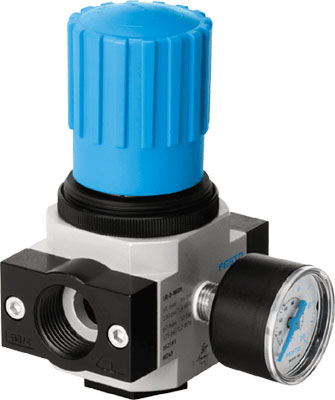 FESTO Pressure Regulator - Model: LR-1/4-D-MINI - Part No: 159625